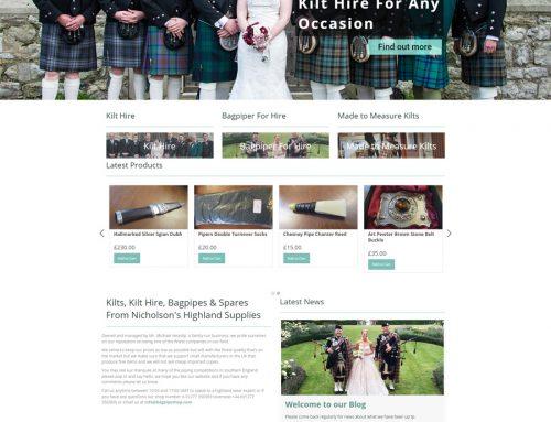 Bagpipe Shop – Nicholson's Highland Supplies