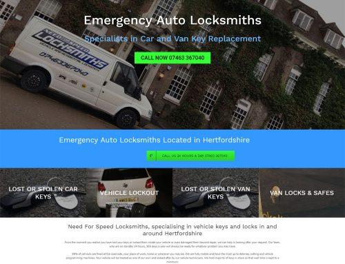 Need For Speed Locksmiths